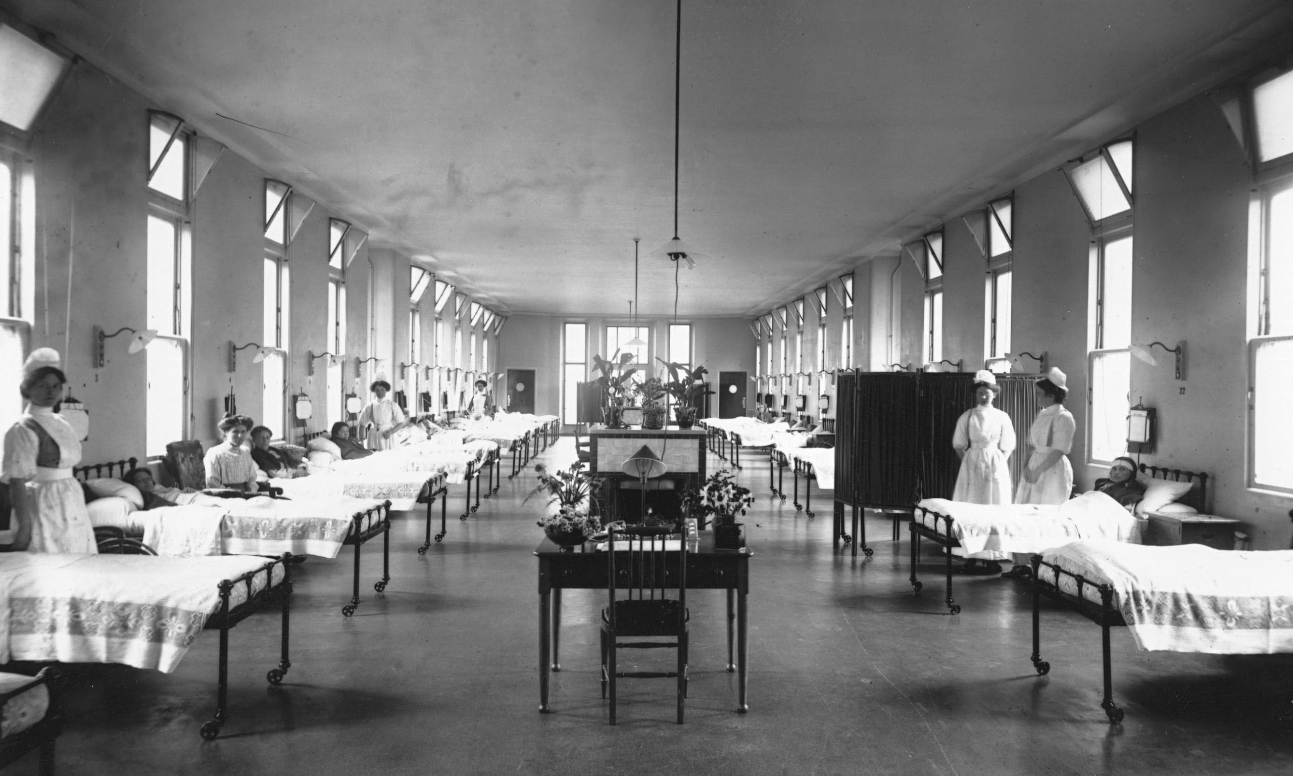 Return To Victorian Style Hospitals To Fight Superbugs