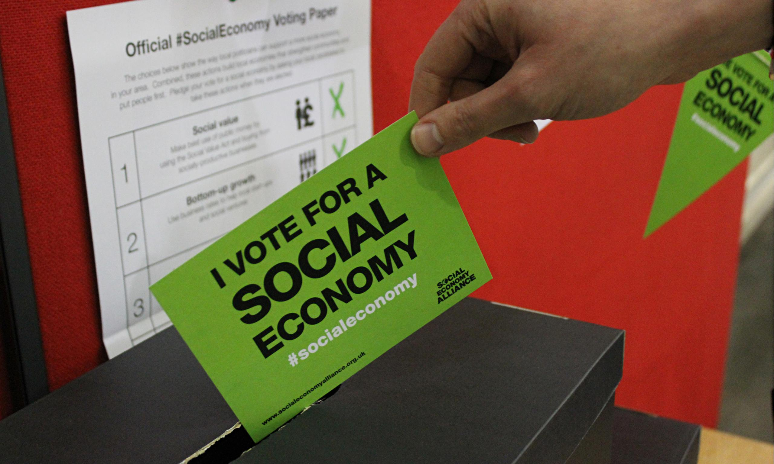 Campaign for a social economy: We have a critical window to influence party manifestos