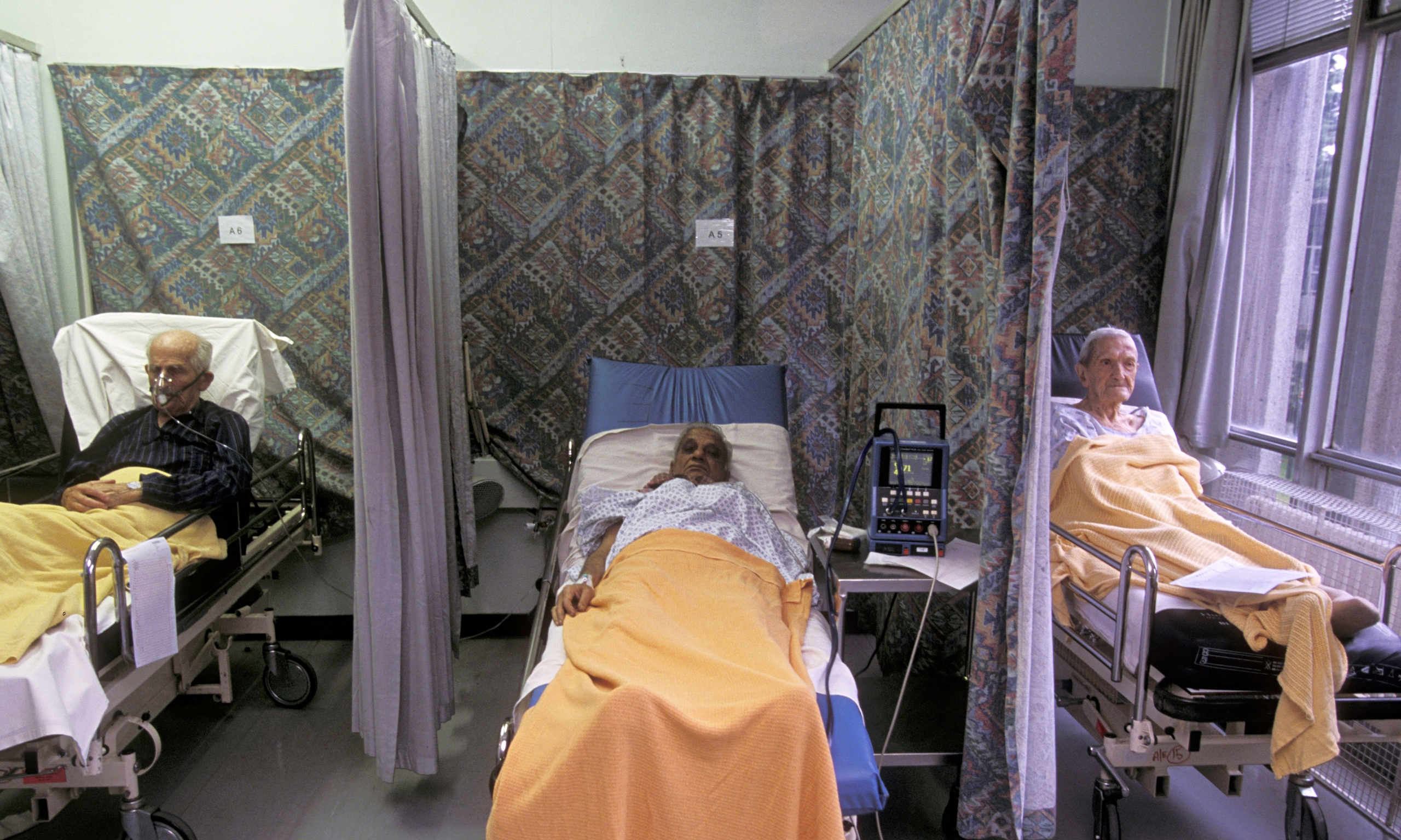 social care problems lead to hospital bed blocking  says
