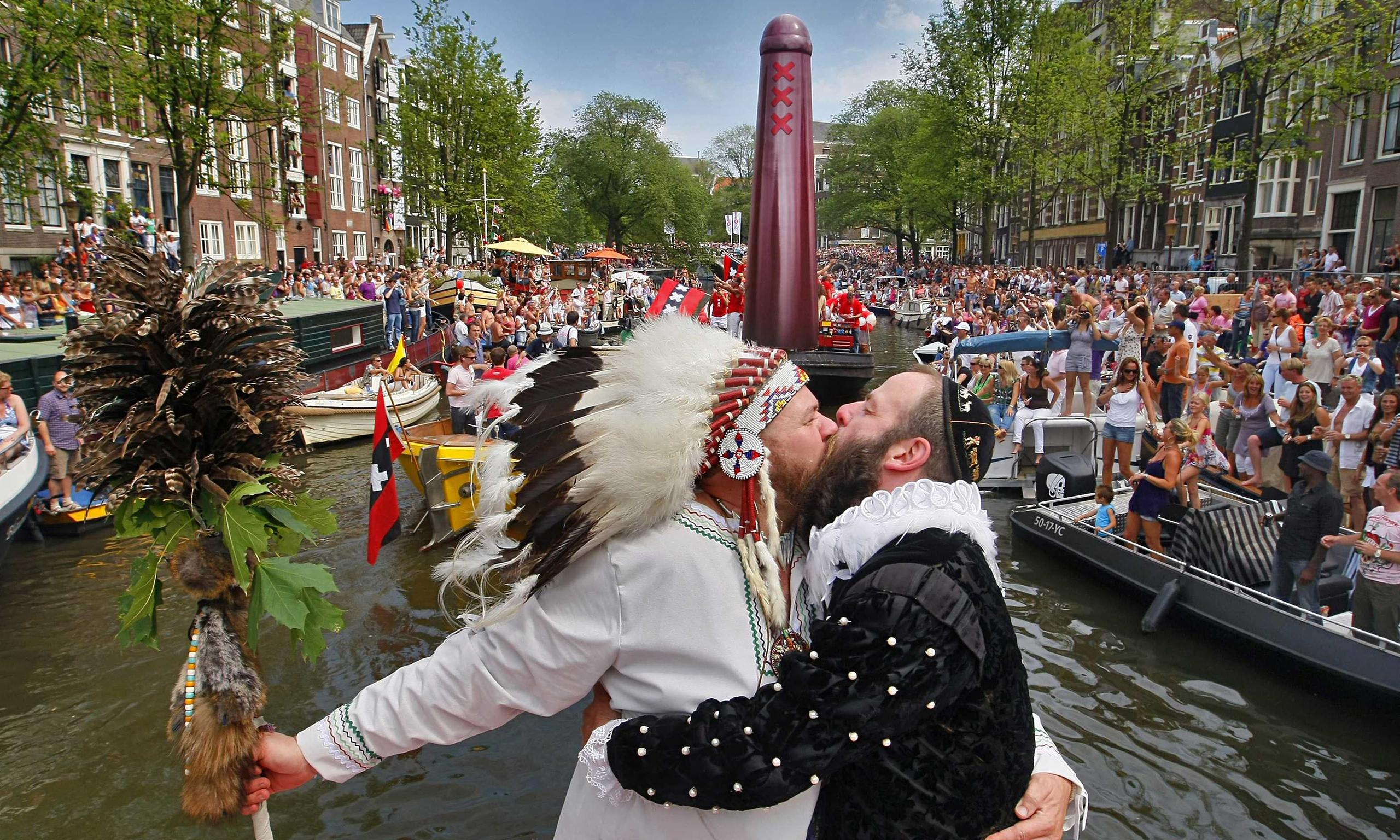 Dutch 'gay-only village' hoax fools press