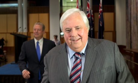Abbott completely isolated by Palmer's