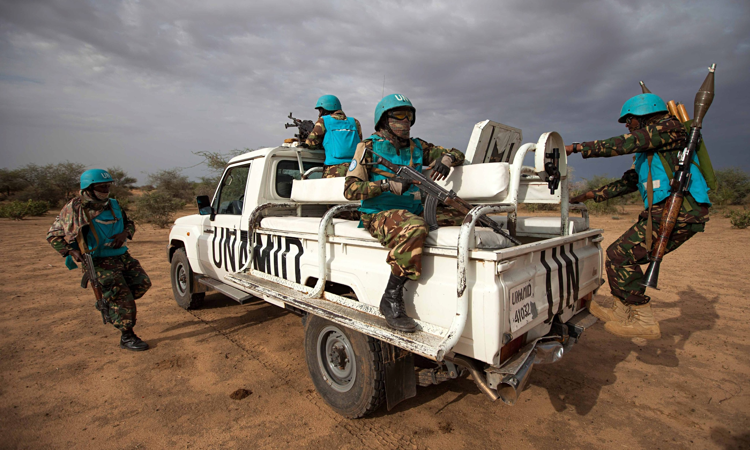 Aid workers find 'dire conditions' in Darfur town that had been off limits