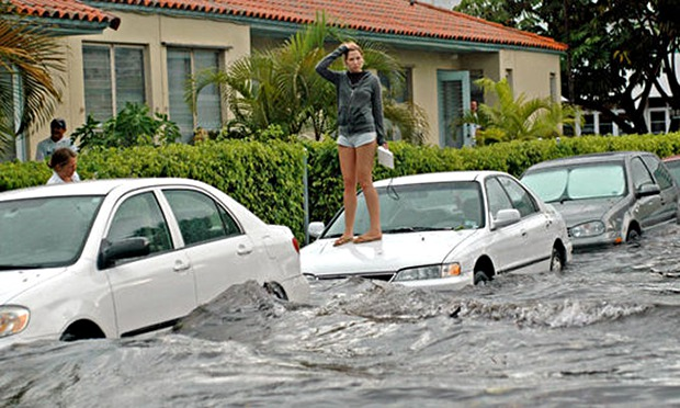 Miami, the great world city, is drowning while the powers that be look away