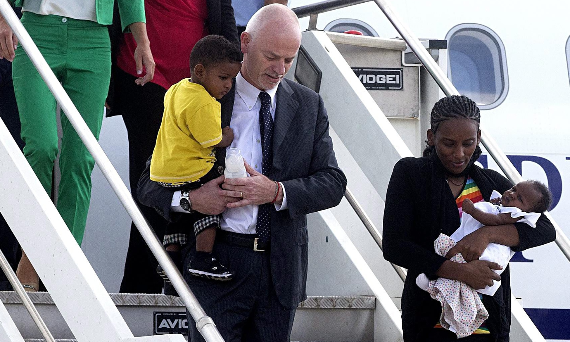 Sudanese woman spared death sentence for apostasy arrives in Italy