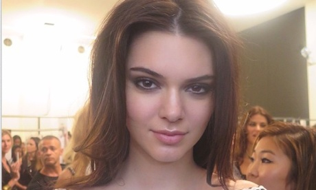 The most prized trophy from New York fashion week? A picture with Kendall Jenner