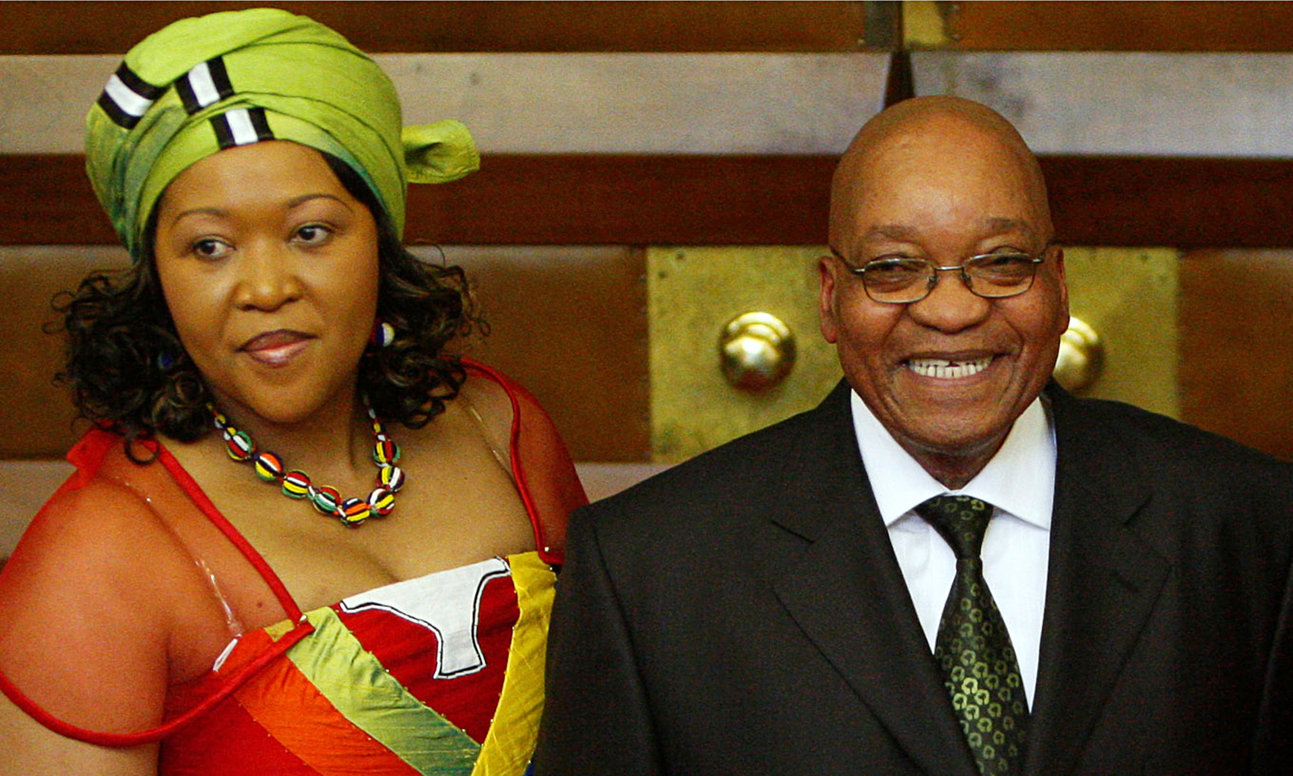 Jacob Zuma's wives clash after turning up for same TV ...