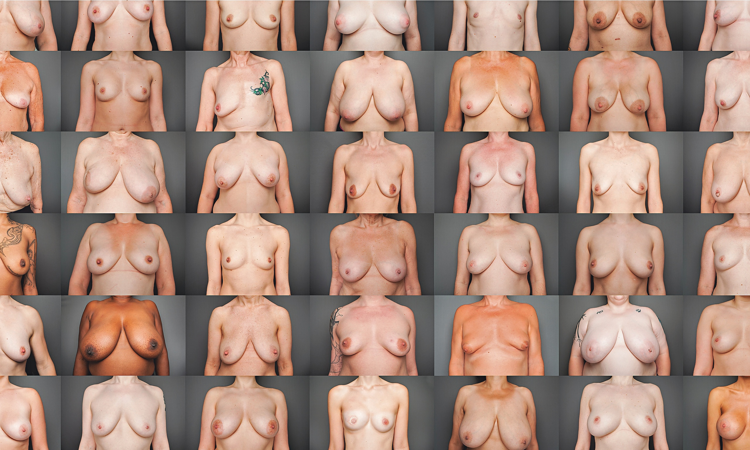 All the breast sizes