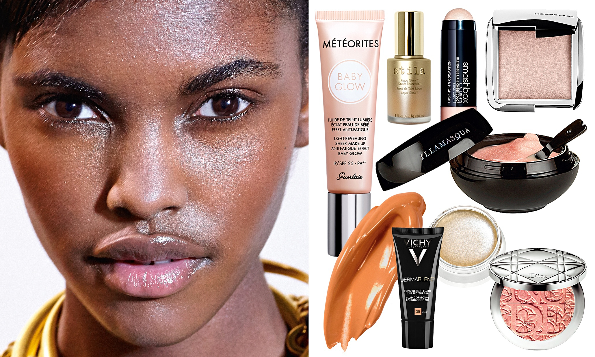 how to get a dewy glow