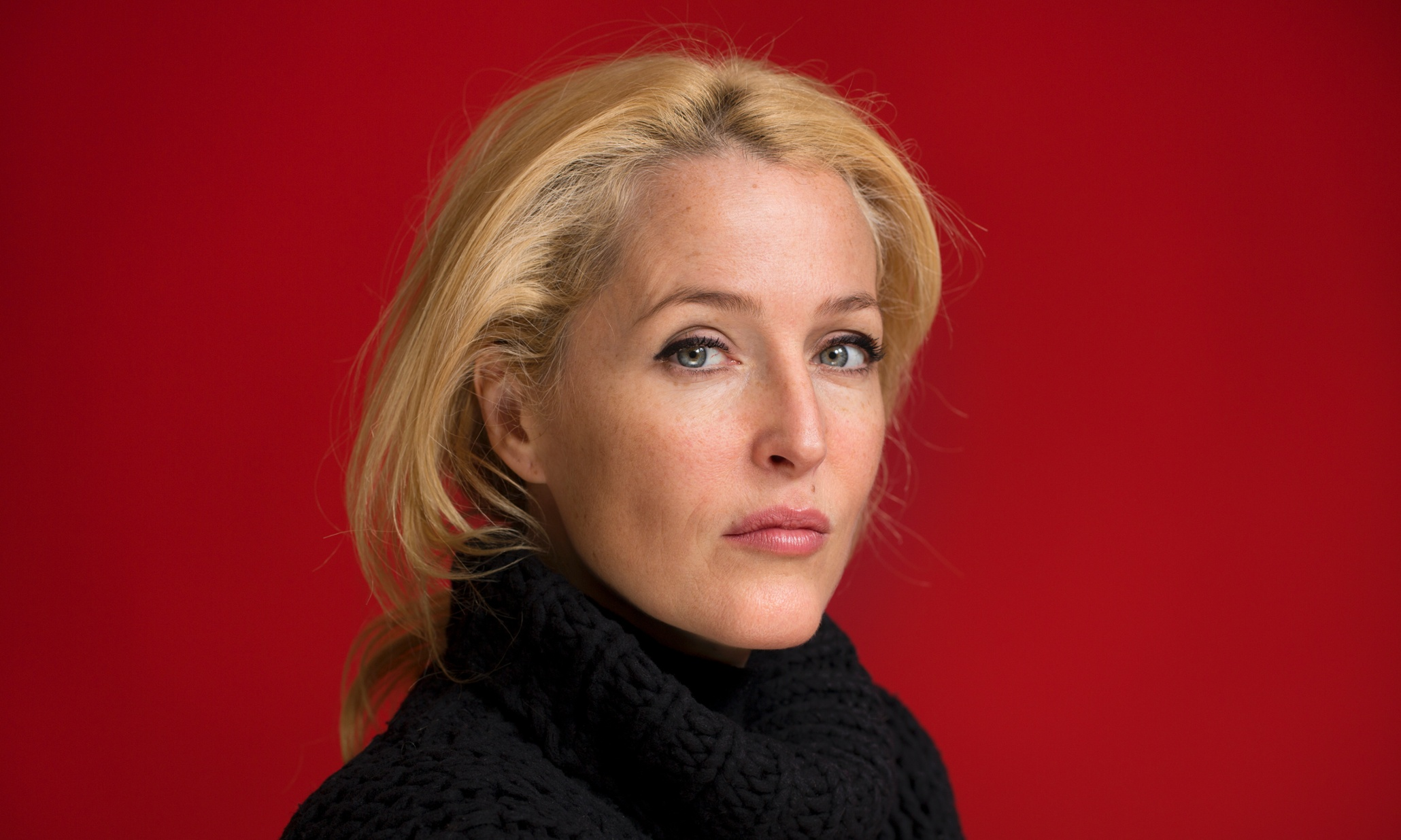Gillian Anderson on th...