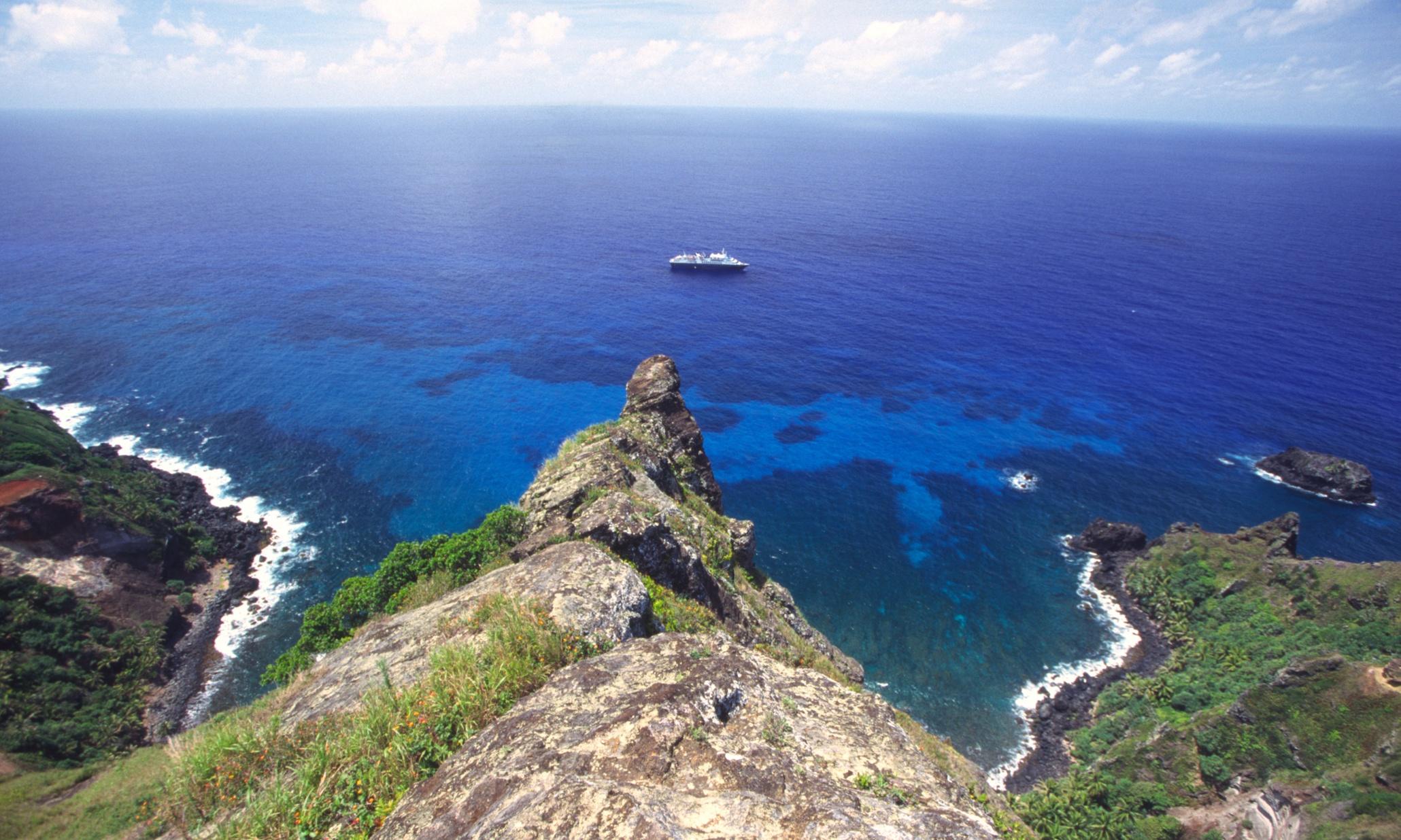 Isla paradisíaca posee la capital con menos población del mundo
