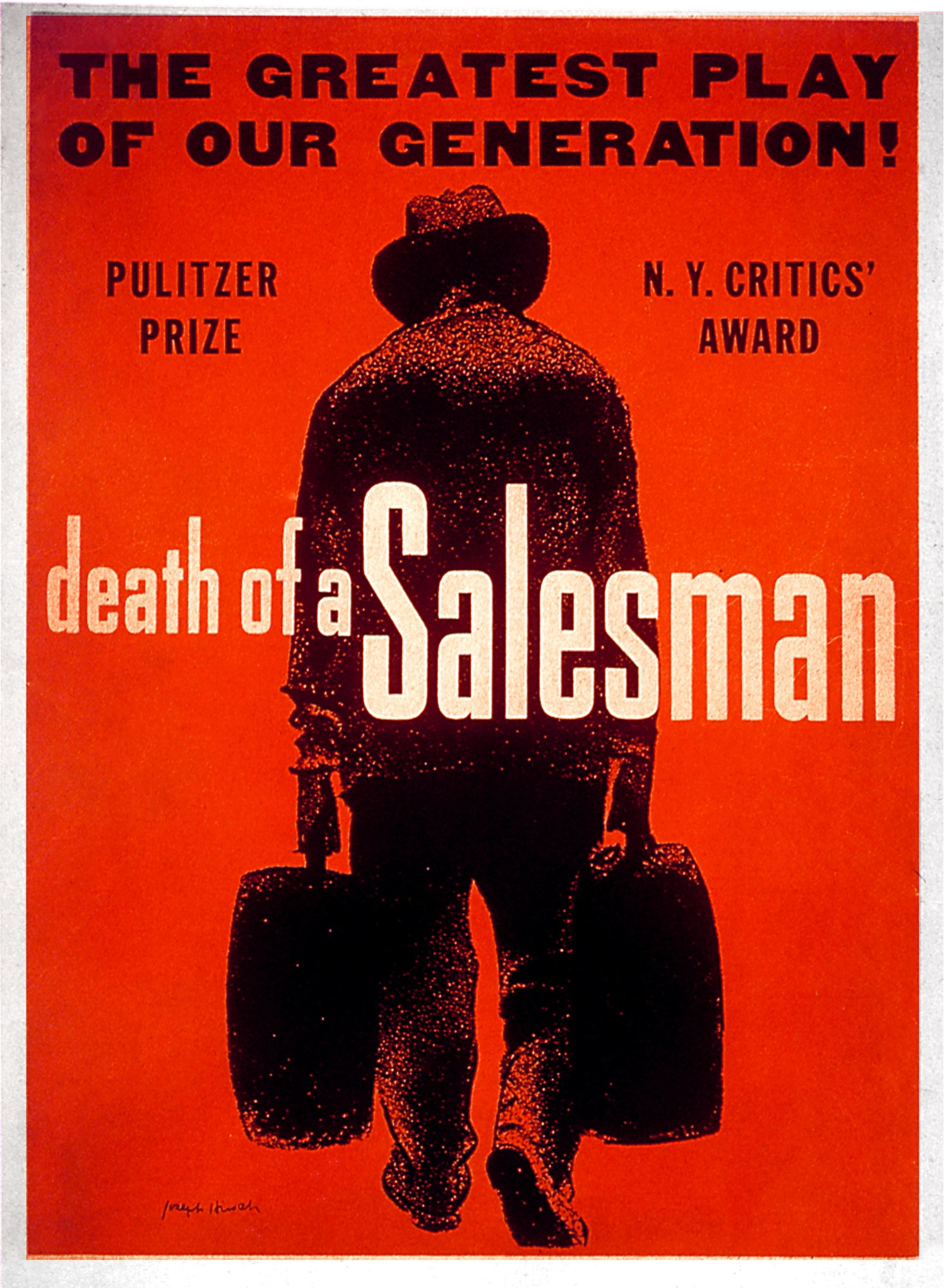 a personal interpretation of arthur millers death of a salesman Everything you ever wanted to know about quotes about death of a salesman  death of a salesman by arthur miller a young man with such—personal.