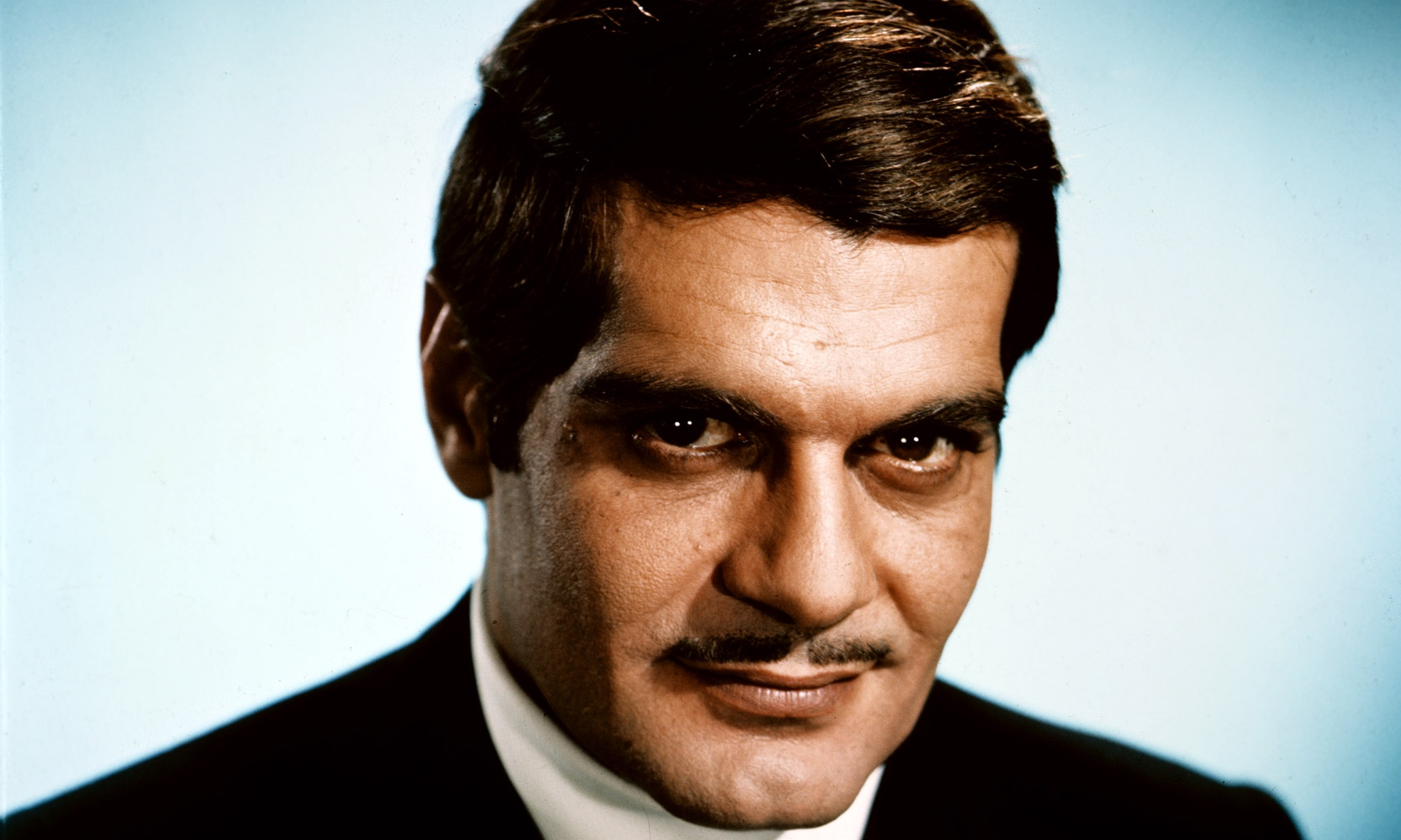 Omar Sharif in 1968, around the time he shot Funny Girl.Photograph ...