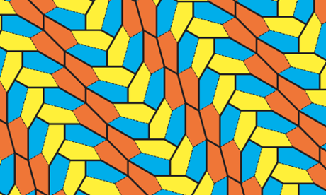 Attack on the pentagon results in discovery of new mathematical tile