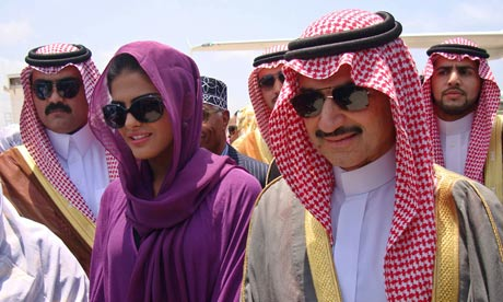Prince Alwaleed bin Talal insulted at only being No 26 on Forbes rich list