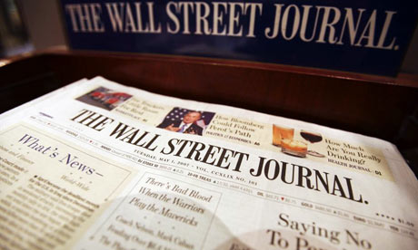 Thanks for everyone contributing to wall street journal