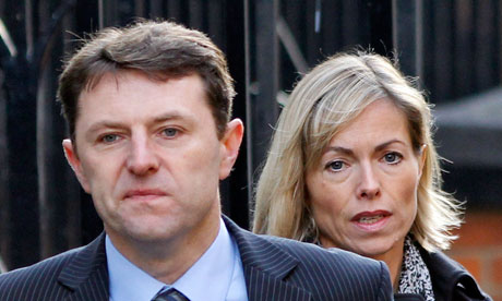 Press intrusion victims say Cameron's failure to keep promises is 'betrayal' - once again, Gerry McCann whinges about press coverage KateMcCann-Gerry-McCann-008