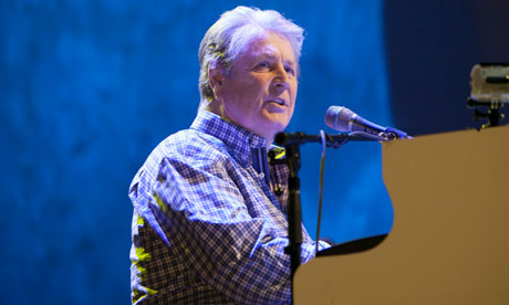 Avant-pop creativity ... Brian Wilson of the Beach Boys at Wembley Arena, London.  Photograph: John Rahim/Music Pics/Rex Features