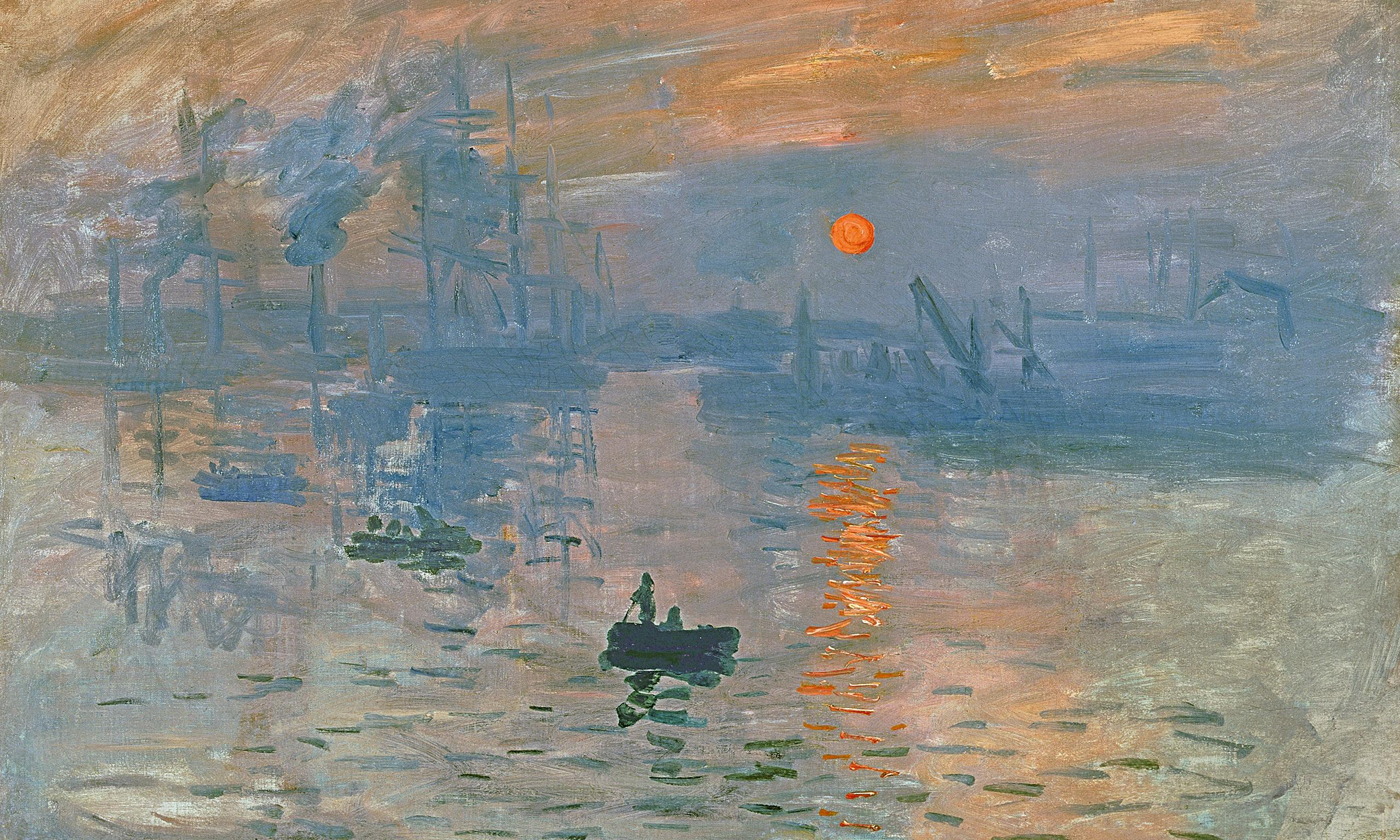 What Was Claude Monet S First Painting