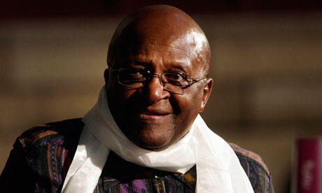 Desmond Tutu: pulled out of a seminar which Tony Blair was scheduled to attend. Photograph: Str/REUTERS