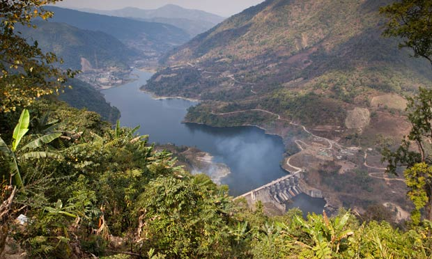 China and India 'water grab' dams put ecology of Himalayas in danger