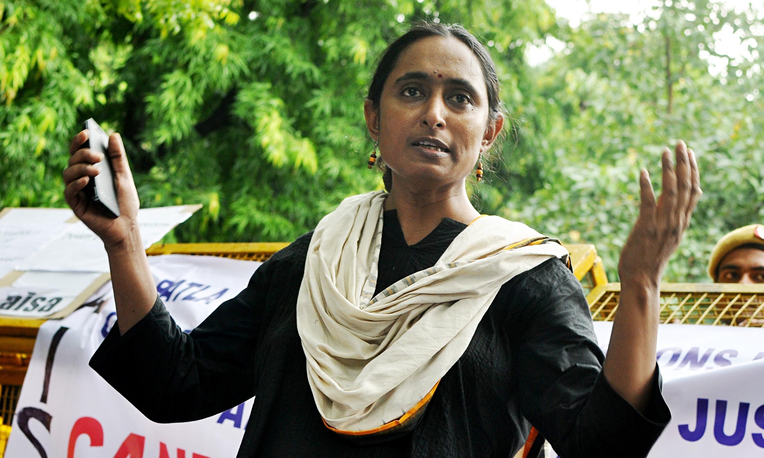 politics kavita krishnan communist india accused minister free