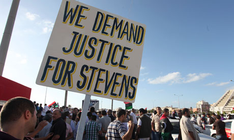 Libyans support justice for Chris Stevens