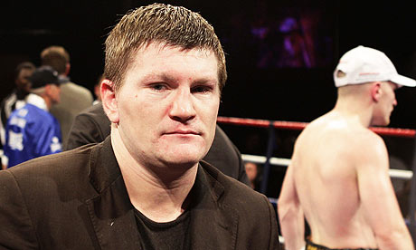 Ricky Hatton earned a  million dollar salary, leaving the net worth at 40 million in 2017