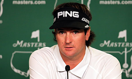 Thumbnail for Masters 2013: Bubba Watson happy to discuss the tracks of his tears
