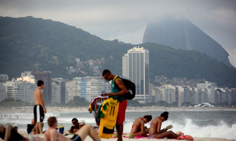 England choose their 2014 World Cup base in Rio's famous Copacabana