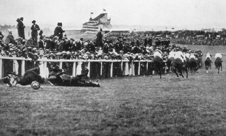 the death of emily davison Emily wilding davison (11 october 1872 – 8 june 1913) was a militant activist who fought for women's suffrage in britain she was jailed on nine occasions and force-fed 49 times[1] she stepped in front of king george v's horse anmer at the epsom derby on 4 june 1913, suffering fatal injuries.