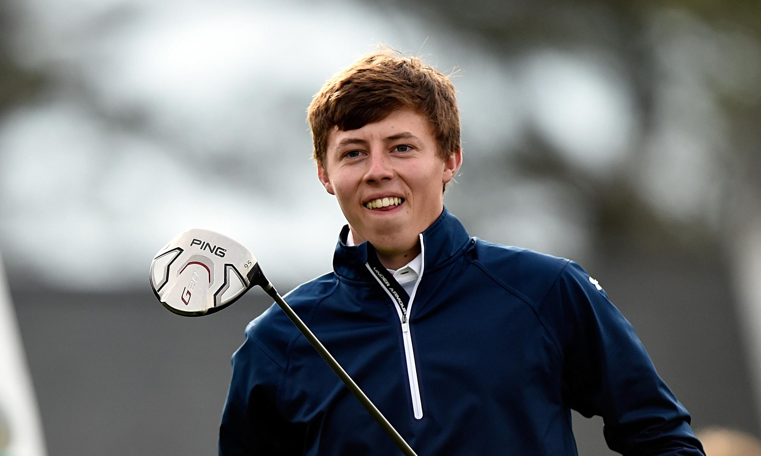 Champion Driving School >> US Amateur champion Matthew Fitzpatrick aims to cut a dash at the Masters | Sport | The Guardian