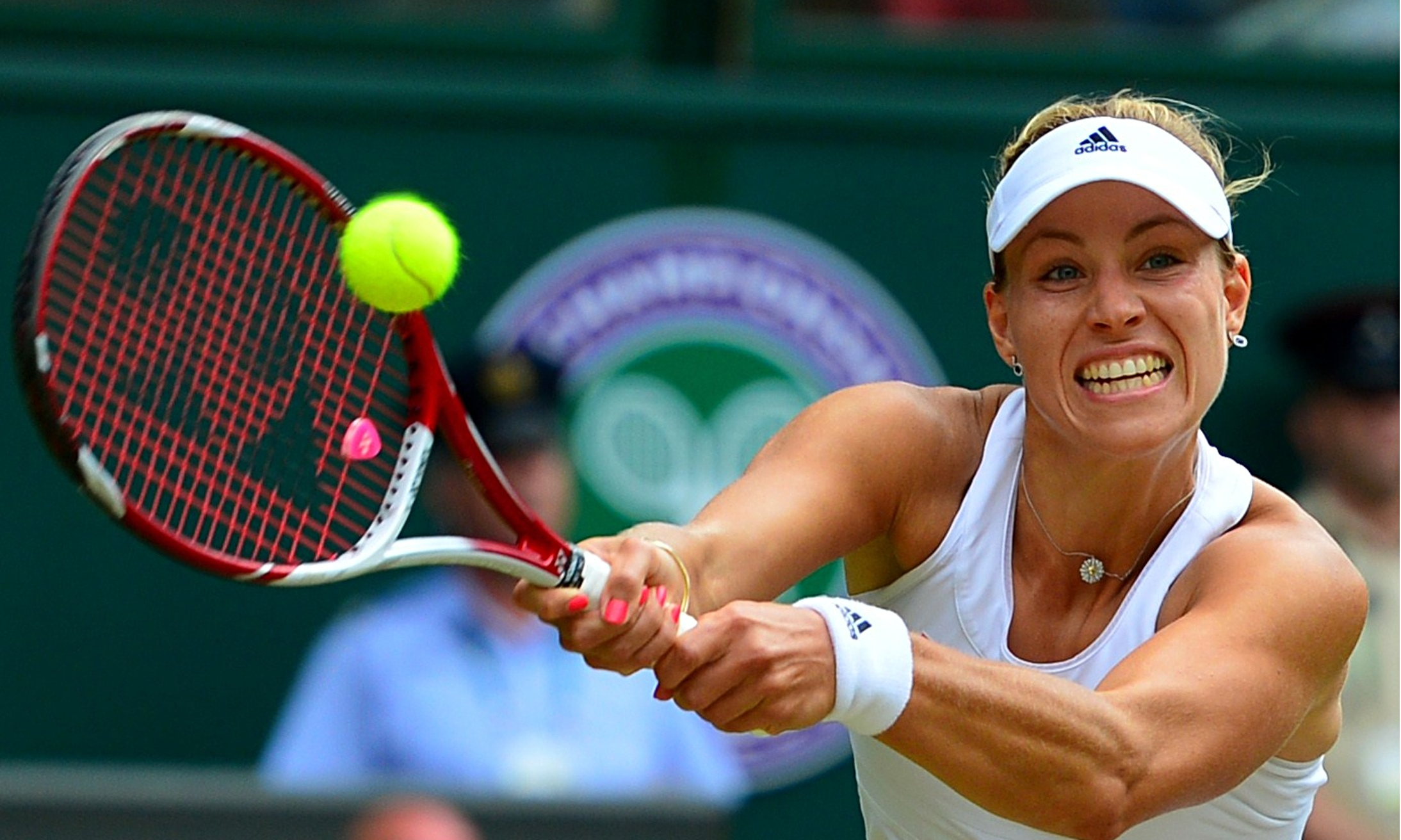 Maria Sharapova knocked out of Wimbledon by Angelique Kerber ...