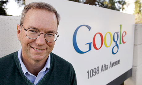 Surprise! Google chairman Eric Schmidt uses.. a BlackBerry
