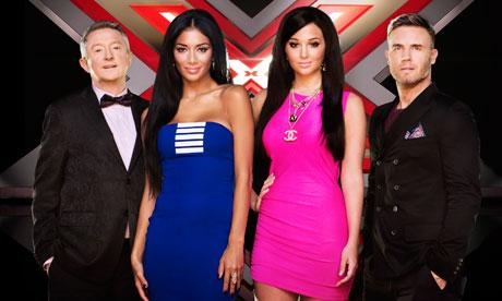 X Factor Judges 2012 Names X Factor 2012: ...