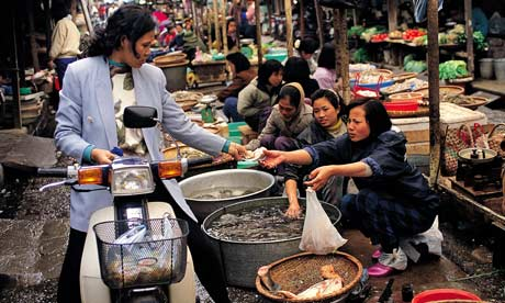 48 hours in hanoi travel the guardian for Fish market hours